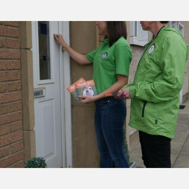 Door to Door Fundraiser