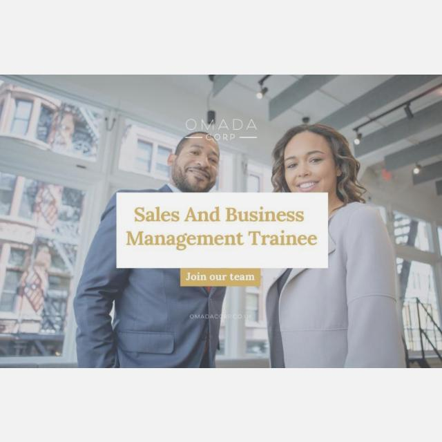Sales and Marketing Management Trainee