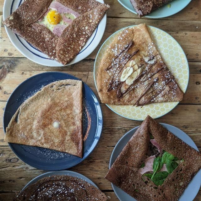Crepes and galettes chef