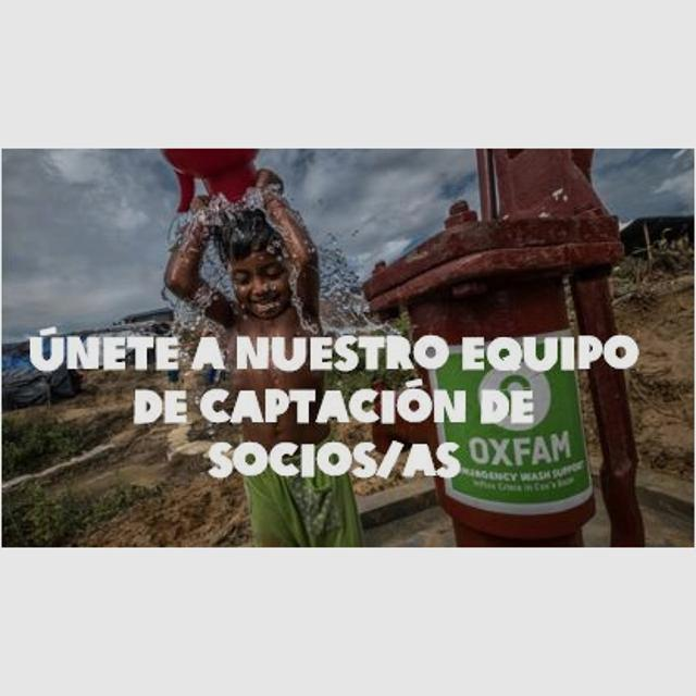 Promotor/a ONG OXFAM INTERMON 20H/Tardes