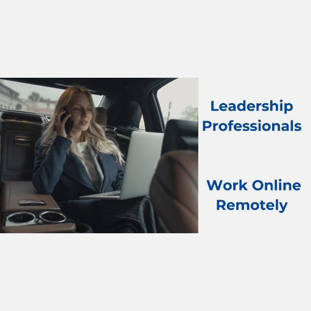 Leadership Professional- work online remotely