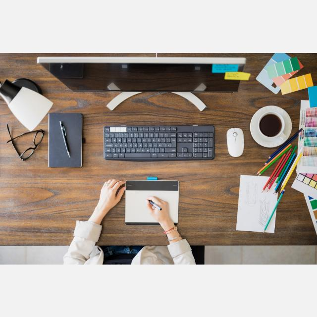 Administrative Assistant and Graphic Designer
