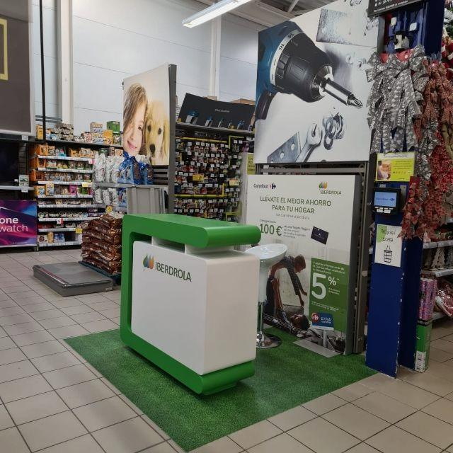 COMERCIAL STAND - GRAN SUPERFICIE