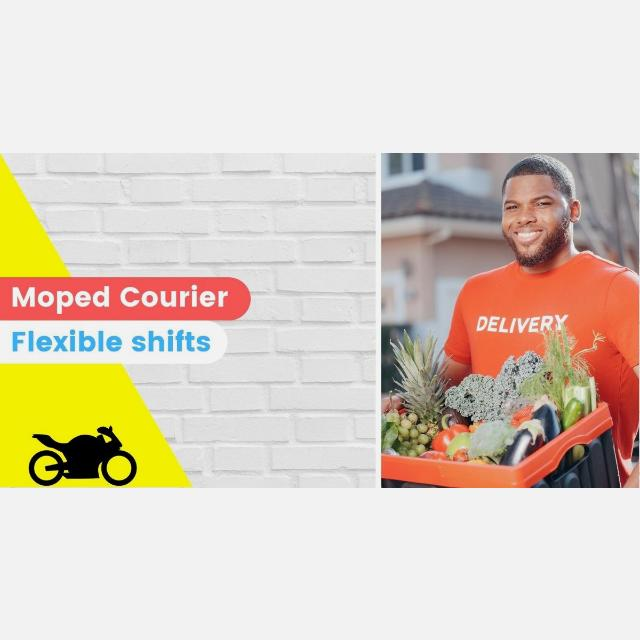 Moped Courier with CBT or Motorcycle License Wanted