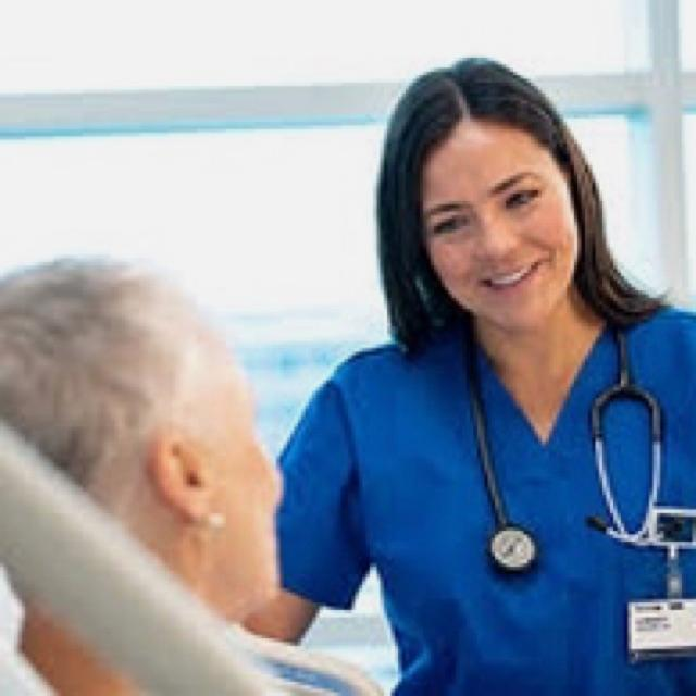 Registered general nurse with valid NMC PIN Number