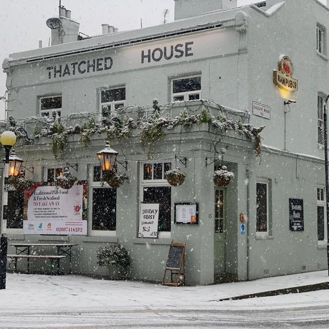 The Thatched house pub cover  image