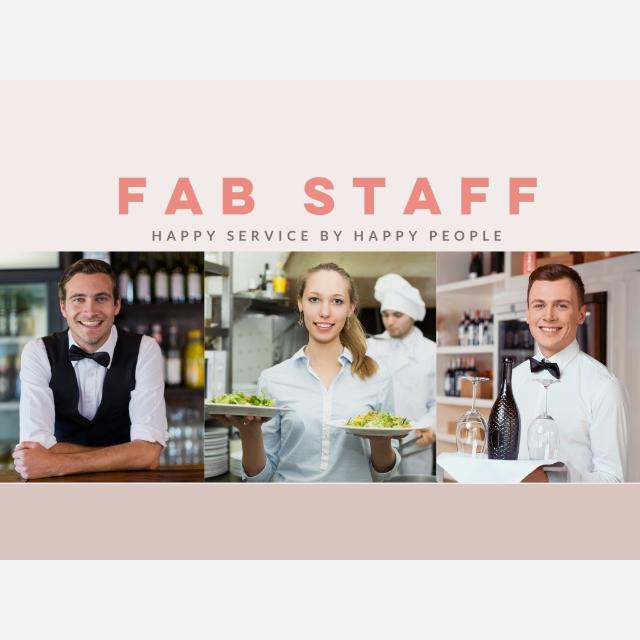 START TOMORROW - Event Catering / Hospitality Staff at Luxury Events
