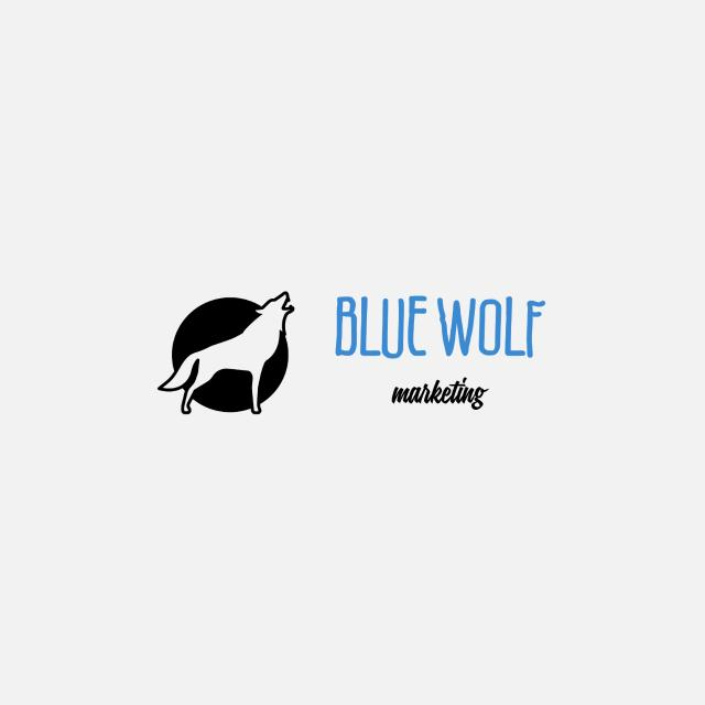 BLUE WOLF cover  image