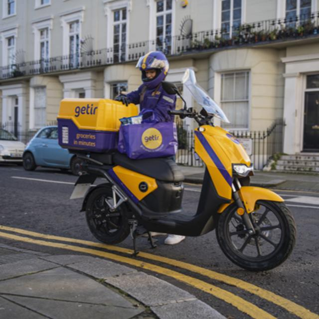 E-Motorcycle Courier (North East London)