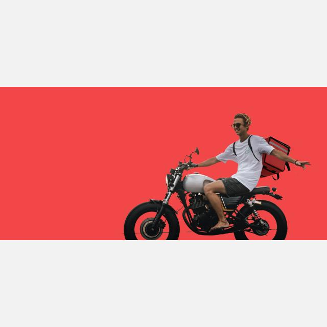 DELIVERY MOTORBIKE DRIVER IN WEST LONDON
