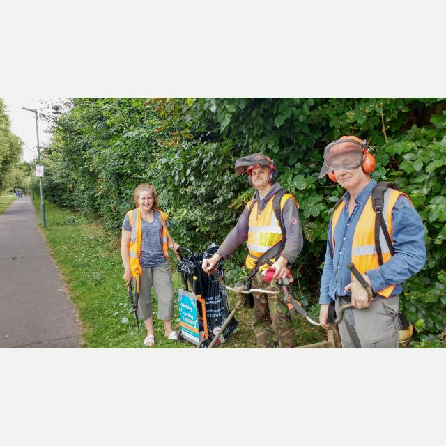 Footpath and Cycle Path Maintenance Operative