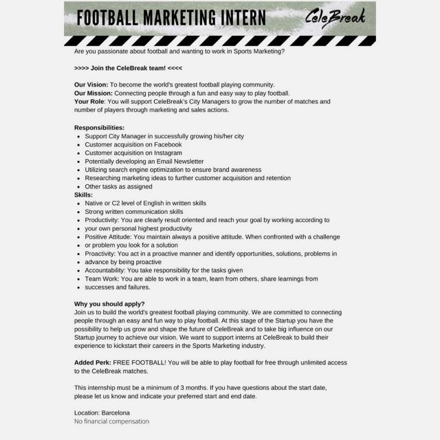 Football Marketing
