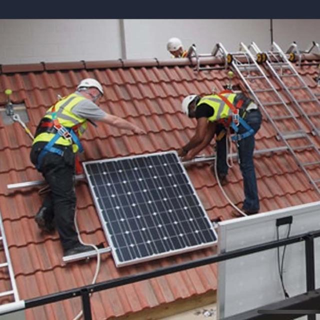 Electrician with Solar PV
